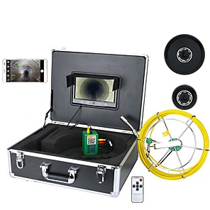 cheap Video Door Phone Systems-MOUNTAINONE 30M 9inch Wifi Wireless Sewer Pipe Inspection Camera 1/3 Inch CMOS 1000TVL Endoscope IP68 Mobile Viewing Video Recording Tube Camera TFT Screen