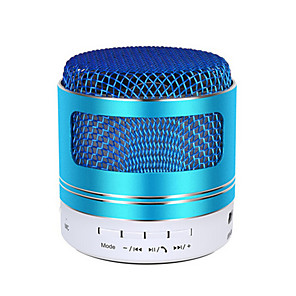 cheap Portable Speakers-NEW Mini A9D Bluetooth Speaker Stereo Sound Support FM Radio/TF Card Metal Surface