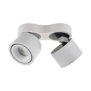 cheap LED Ceiling Light-Double Head Bright Mounted Spotlights Led Cob Doublecall Light Grid Light Day Tube Light
