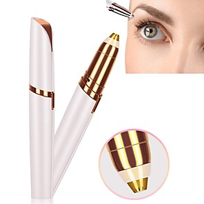 cheap Facial Care Devices-Electric Eyebrow Trimmer Shaver Perfect Brows New Portable Electric Eye Brow Shaping Machine Makeup