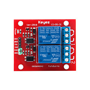cheap Relays-Two-Way Relay-12v (Red)