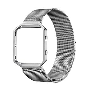 cheap Smartwatch Bands-Watch Band for Fitbit Blaze Fitbit Milanese Loop Stainless Steel Wrist Strap