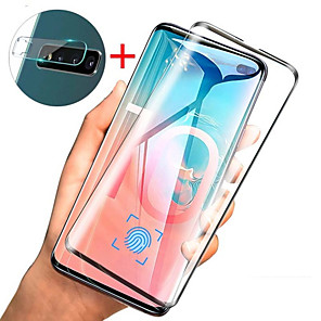 cheap Samsung Screen Protectors-Glass Screen Protector and Lens Protective Film for Samsung Galaxy S10 / S10 Plus / S10E / S9 Plus / S9 / S8 Plus / S8