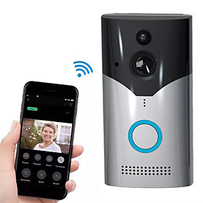 cheap Video Door Phone Systems-Factory OEM HH-D03 WIFI Recording No Screen(output by APP) Telephone One to One video doorphone