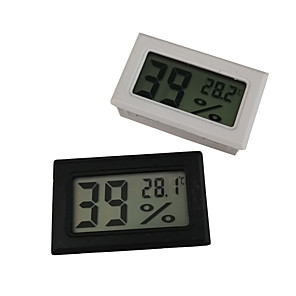 cheap Testers & Detectors-Mini Digital LCD Indoor Convenient Temperature Sensor Humidity Meter Thermometer Hygrometer Gauge