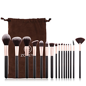 cheap Makeup Brush Sets-Professional Makeup Brushes 16pcs Cute Soft Comfy Wooden / Bamboo for Makeup Brush