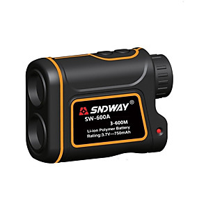 cheap Projectors-SNDWAY SW-600A/1000A/1500A Telescope Laser Rangefinder 600m/1000m/1500m with Speed Difference Measuring Function With Height Difference Measuring Function Waterproof Dustproof Optical 7 Times