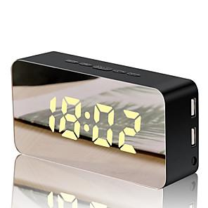 cheap Wall Stickers-Alarm clock LED / Digital Plastics / Glass / Metal LED 1 pcs