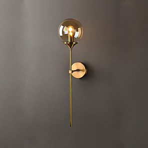cheap Wall Sconces-Modern Contemporary Wall Lamps & Sconces Living Room Bedroom Metal Wall Light 110-120V 220-240V