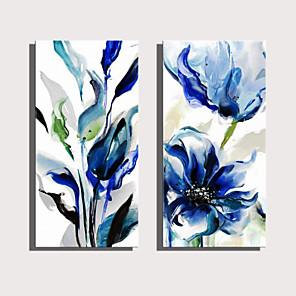 cheap Prints-Print Rolled Canvas Prints Stretched Canvas Prints - Botanical Floral / Botanical Modern Art Prints