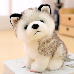 cheap Stuffed Animals-Simulation Plush Toy Plush Dolls Stuffed Animal Plush Toy Dog Adorable Plush Husky Imaginative Play, Stocking, Great Birthday Gifts Party Favor Supplies Boys and Girls Adults Kids Baby & Toddler