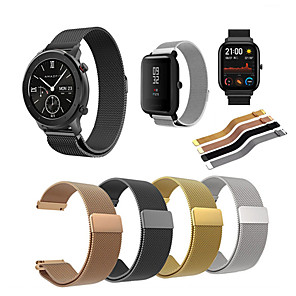 cheap Smartwatch Bands-Stainless Steel Milanese Watch Band Strap For Huami Amazfit GTS/Amazfit Bip/GTR 42mm