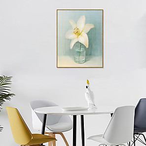 cheap Framed Arts-Framed Art Print Framed Set - Still Life Floral / Botanical PS Oil Painting Wall Art