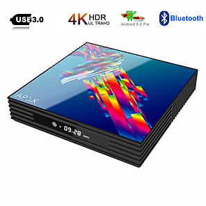 cheap TV Boxes-A95X R3 RK3318 9.0 Android TV Box 4GB RAM 64GB 4K 2.4G/5G WiFi USB3.0 Google Netflix Youtube Media Player Set Top Box