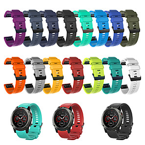 cheap Smartwatch Bands-Smartwatch Band for Garmin Fenix 3 HR / Fenix 3 / Fenix 3 Sapphire / Quatix 3 Garmin Sport Band Silicone Wrist Strap