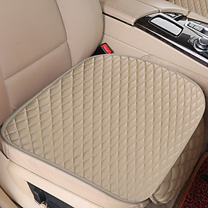 cheap Car Seat Covers-Universal Car Seat Cover PU Leather Cushions Organizer Auto Front Back Seats Covers Protector Mat