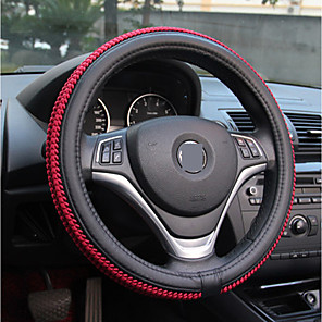 cheap Car DVR-Car steering wheel cover Skidproof Auto Steering- wheel Cover Anti-Slip Universal Embossing Car-styling summer season set of ice silk slip