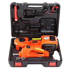 cheap Car Emergency Tools-12V DC 5T 3-in-1 Auto Car Electric Hydraulic Floor Jack Lift And Impact Wrench