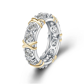 cheap Rings-Women's Ring 1pc Silver Alloy Daily Jewelry Cute