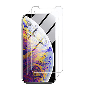 cheap Other Phone Case-AppleScreen ProtectoriPhone 11 High Definition (HD) Front Screen Protector 2 pcs Tempered Glass