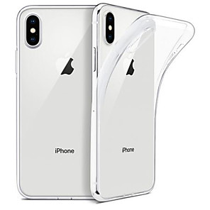 cheap iPhone Cases-Case For Apple iPhone 11 / iPhone 11 Pro / iPhone XS Transparent Back Cover Transparent TPU