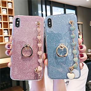 cheap Samsung Case-Case For Samsung Applicable to S10/S10E/S10 Plus Glitter Patch S9/S9 Plus/S8/S8 Plus Love Bracelet S7/S7 Edge/S6/S6 Edge/S6 Edge Plus Soft Anti-fall Mobile Phone Case