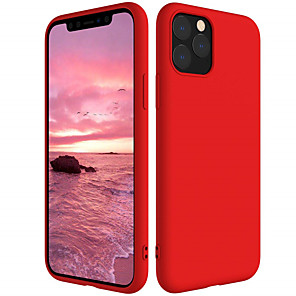 cheap Other Phone Case-Case for Apple iPhone 11 11 Pro 11 Pro Max Shockproof Full Body Cases Solid Colored Silica Gel XS Max XR XS X 8 8 Plus 7 7 Plus 6 6 Plus 6s 6s Plus