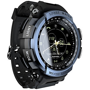 cheap Smartwatches-Men's Smartwatch Digital Sporty Black / Clover 30 m Water Resistant / Waterproof Bluetooth Smart Analog Casual - Black Green Blue One Year Battery Life