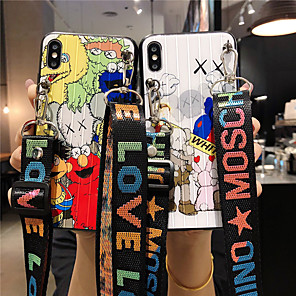cheap iPhone Cases-Case For Apple iPhone 11 / iPhone 11 Pro / iPhone 11 Pro Max Pattern Back Cover Cartoon Acrylic