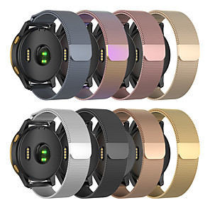 cheap Smartwatch Bands-Milanese Loop Strap for Garmin Venu/vivoactiv3/Forerunner245 /645/vivomove/vivomove HR Stainless Steel Bracelet