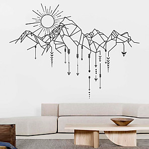 cheap Wall Stickers-Decorative Wall Stickers - Animal Wall Stickers / Holiday Wall Stickers Animals / Christmas Decorations Living Room / Bedroom / Kitchen