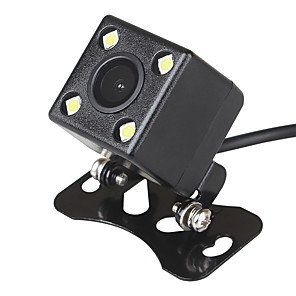 cheap Car Rear View Camera-ZIQIAO PLA System 4 LED Car Night Vision Reverse Monitoring Automatic Parking Waterproof 170-degree HD Video Backup Camera