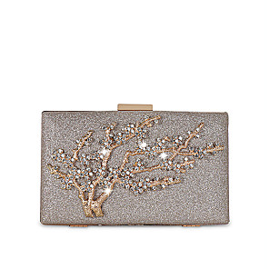 cheap Clutches & Evening Bags-Women's Crystals / Glitter Alloy Evening Bag Gold