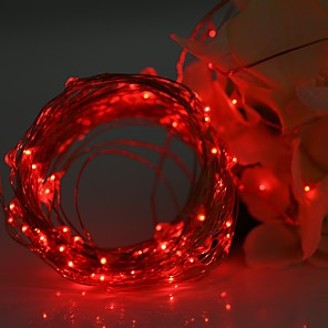 cheap LED String Lights-YWXLight® LED String Fairy Lights Waterproof 3M 30LED Copper Wire Fairy String Light Christmas Wedding Party Decoration AA Battery (No batteries)
