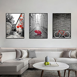 cheap Framed Arts-Framed Art Print Framed Set - Landscape Scenic PS Photo Wall Art