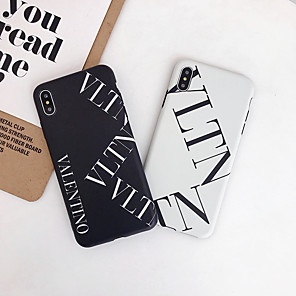 cheap iPhone Cases-Case For Apple iPhone 11 / iPhone 11 Pro / iPhone 11 Pro Max Frosted / Pattern Back Cover Word / Phrase TPU / PC