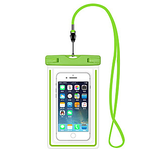 cheap iPhone Cases-iPhone 11/11 Pro/11 Pro Max/X/XS/XR/XS Max/7 8 Plus Waterproof Bag 6.5 Inch Mobile Sellphone Swimming Case Luminous Buoyancy