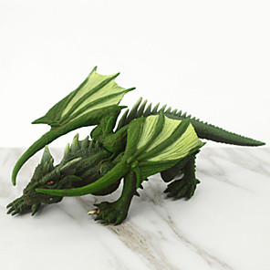 cheap Animal Action Figures-Display Model Dinosaur Figure Jurassic Dinosaur Simulation Rubber 1 pcs Kid's Party Favors, Science Gift Education Toys for Kids and Adults