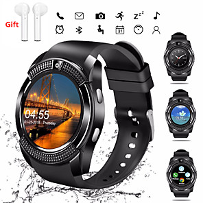 cheap Smartwatches-Indear V8 Men Women Smartwatch Android iOS Bluetooth 2G Waterproof Touch Screen Sports Calories Burned Hands-Free Calls Timer Stopwatch Pedometer Call Reminder Activity Tracker / Sleep Tracker