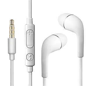 cheap Wired Earbuds-LITBest S4 Wired In-ear Earphone Wired Stereo with Microphone with Volume Control InLine Control Earbud
