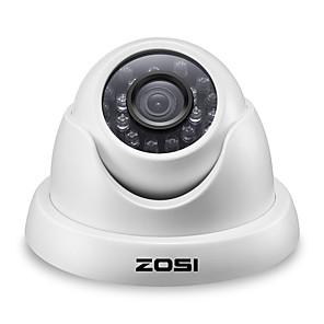 cheap CCTV Cameras-ZOSI 5MP TVI 1/2.5 Indoor & Outdoor CMOS Dome Camera Infrared Night Vision H.265 Waterproof IP67