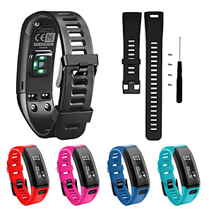 cheap Smartwatch Bands-Watch Band for Vivosmart HR Garmin Sport Band Silicone Wrist Strap