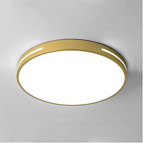 cheap Dimmable Ceiling Lights-1-Light 40/50 cm Flush Mount Lights Metal Novelty Painted Finishes LED Modern 110-120V 220-240V