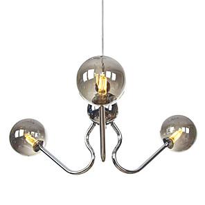 cheap Globe Design-JSGYlights 3-Light 48 cm New Design Chandelier Metal Glass Electroplated Modern / Nordic Style 110-120V / 220-240V