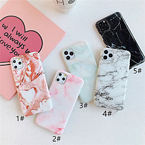 cheap iPhone Cases-Case For Apple iPhone 11 / iPhone 11 Pro / iPhone 11 Pro Max Pattern Back Cover Marble TPU