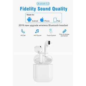 cheap Wired Earbuds-LITBest i300 TWS True Wireless Earbuds Wireless Earbud Bluetooth 5.0 Stereo with Microphone with Volume Control