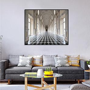 cheap Framed Arts-Framed Art Print Framed Set - Abstract Landscape PS Photo Wall Art