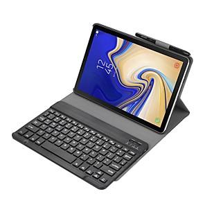 cheap iPad Keyboards-Bluetooth Keyboard & Case For Samsung Galaxy Tab S4 10.5 2018 Model Sm-T830/T835/T837
