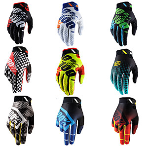 cheap Motorcycle Lighting-Men Women Cycling Gloves Winter Cold Weather Warm Sports Motorcycle Gloves Thermal Anti-Slip Full-Finger Riding Skiing Workout Gloves