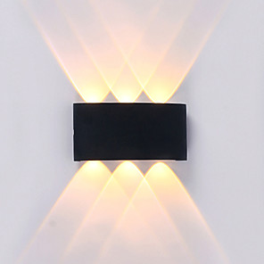 cheap Dog Clothes-Waterproof Simple Modern Contemporary Outdoor Wall Lights Outdoor Lights Study Room Office Indoor Aluminum Wall Light IP65 220-240V